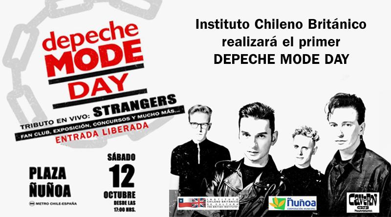 Depeche Mode Day, Strangers, Ñuñoa