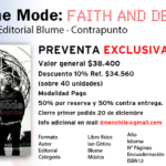 PREVENTA EXCLUSIVA DEL LIBRO DEPECHE MODE FAITH AND DEVOTION